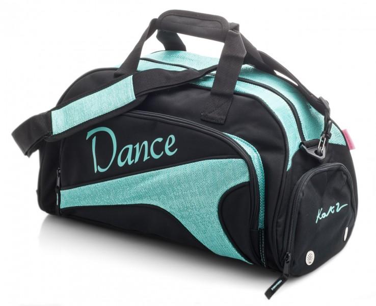 Girls Dancers do it with Attitude Vanity Holdall Shoulder Bag Ballet// Tap Black