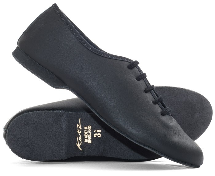 all sizes Black slip on full sole jazz shoes