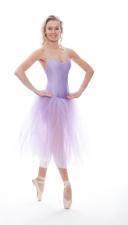 22a5ac351 Purple Short Sequin Lyrical Dress Contemporary Ballet Dance Costume ...