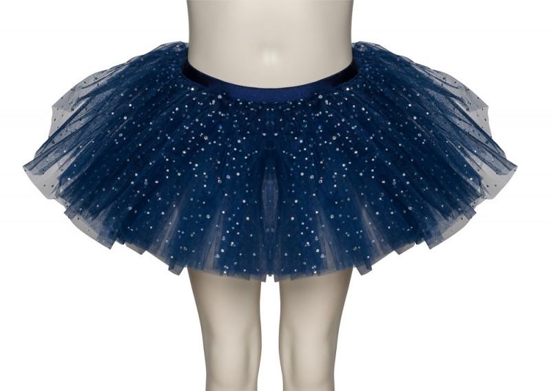 1fd62740b3 Navy Blue Sparkly Sequin Dance Ballet Tutu Skirt Childs & Ladies ...