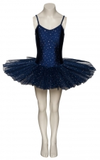 Purple Sparkly Tutu With Silver Sequins Dance Ballet Costume Tutu By Katz