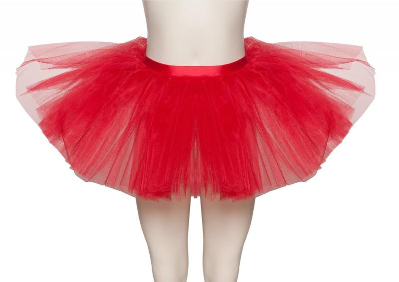 Red Dance Ballet Fancy Dress Tutu Skirt Halloween Devil Costume Outfit By Katz