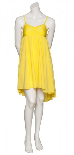 d09af61c6a20 Yellow Lyrical Dress Contemporary Ballet Dance Costume Childs And Ladies  Sizes
