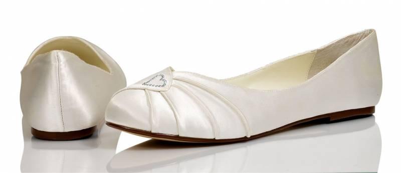 64788d91eb4 Laides Beautiful Ivory Satin Bridal Wedding Pump Shoes Cindy