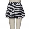 Zebra Animal Print Circular Dance Ballet Pull On Skirt By Katz Dancewear KDSK01