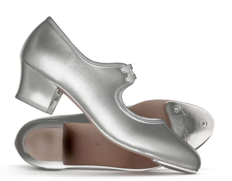 Katz en cuir blanc talon cubain TAP Chaussures