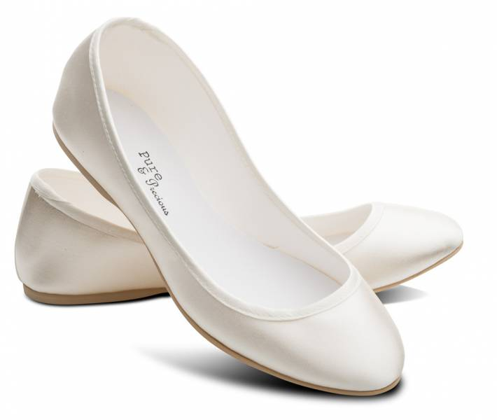 Ivory bridesmaids flower girl wedding bridal pumps flats shoes all ladies girls beautiful ivory satin wedding bridal bridesmaid shoes lucy mightylinksfo