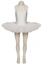 Girls Ladies White Dance Ballet Practise Pancake Plateau Tutu All Sizes By Katz