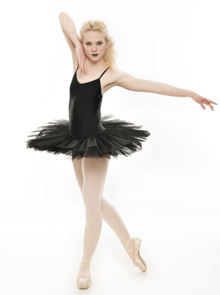 Black Swan Halloween Ballet Fancy Dress Costume Tutu Outfit All Sizes