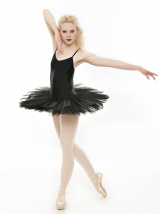 fb16cd1a3 Black Swan Halloween Ballet Fancy Dress Costume Tutu Outfit All Sizes