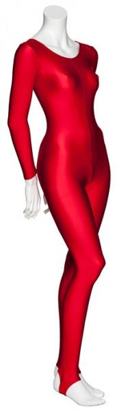 Red Dance Halloween Devil Fancy Dress Unitard Catsuit Costume Outfit KDC012 Katz