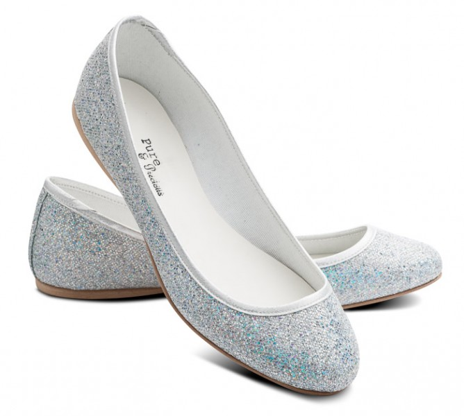 Blue Ballet Pump Shoes